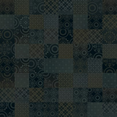 spanish tiles  black