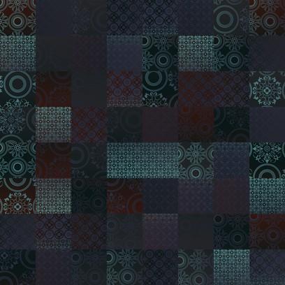 spanish tile  violet