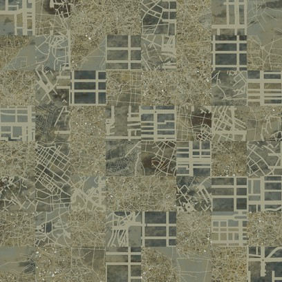 aerial map  beige