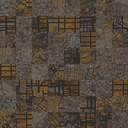Aerial Map  brown